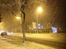 Heswall snow last year. CREDIT: Cato Crane Auctions
