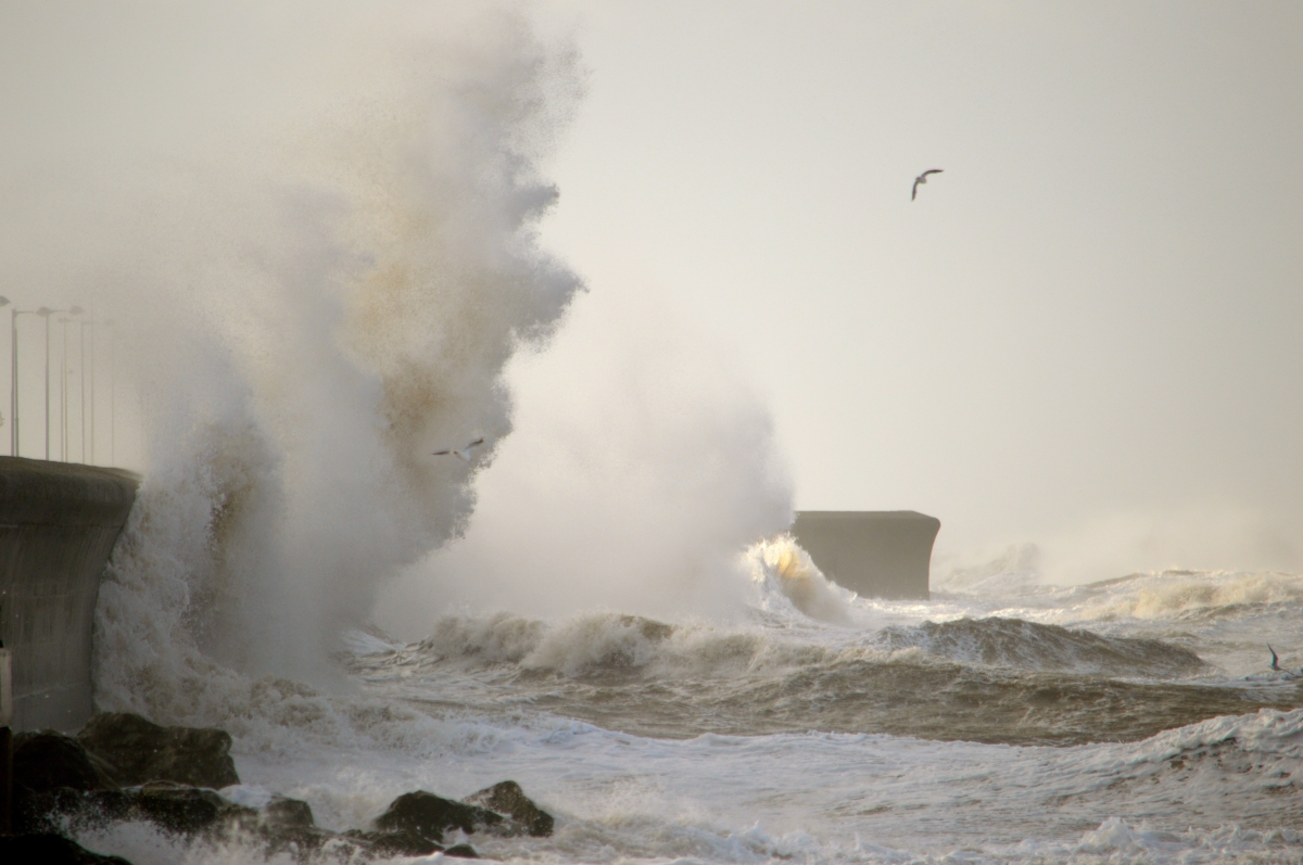 Storm Brian has officially been named and will batter Merseyside with 70 mph winds