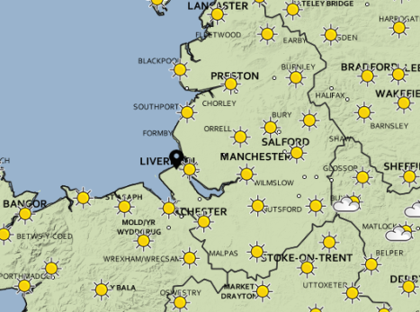Thursday could be one of the warmest days of the year so far.