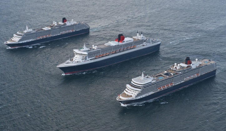 Cunard pleased with cancellation of rail strikes