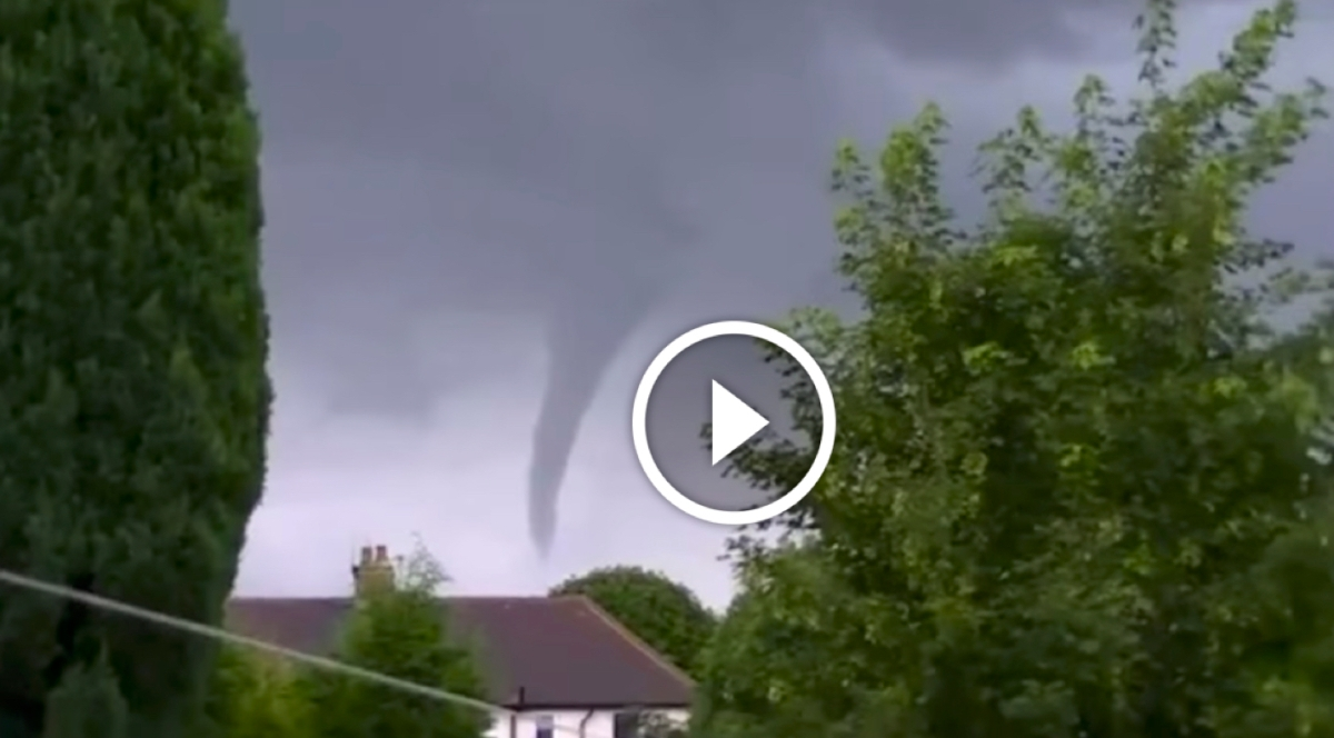 WATCH: Top 10 most shocking UK tornado moments caught on video