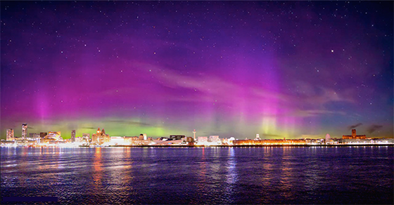 Northern Lights England Tonight
