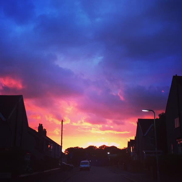 Liverpool Sunset - CREDIT: Michael O'Regan
