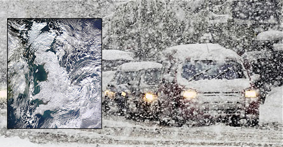 met Office have rubbished newspaper reports that snow is on the way.