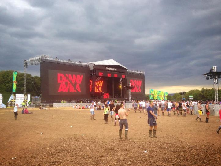 Creamfields 2015 could see a showery end to the festival. Credit: Tom Munns - Creamfields 2014