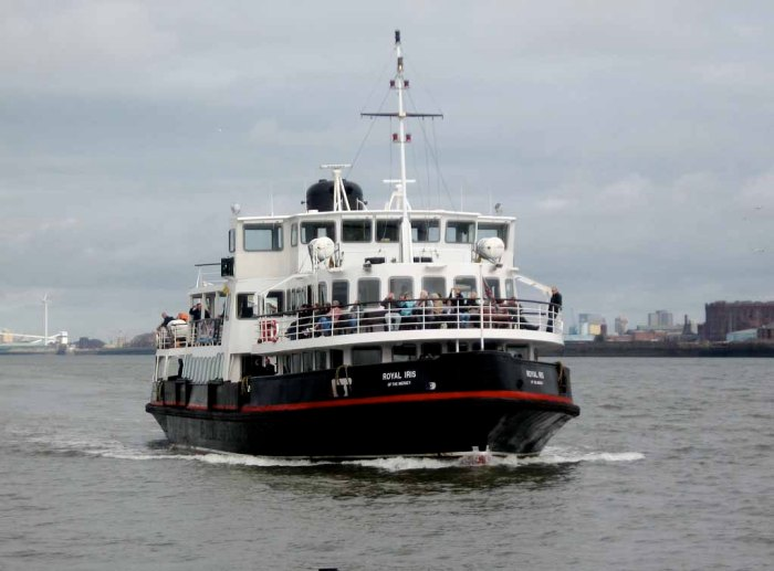 """Royal iris mersey ferry"" by Timitrius - Flickr: Mersey Ferry 1."