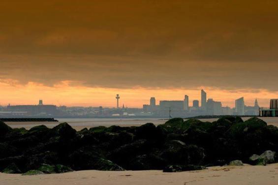 Perfect Sunday morning at New Brighton. Credit: Steve Jones.