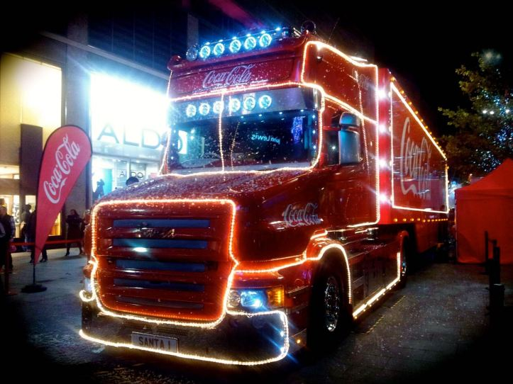 cola truck