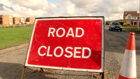 Many roads closed across Wirral on Wednesday