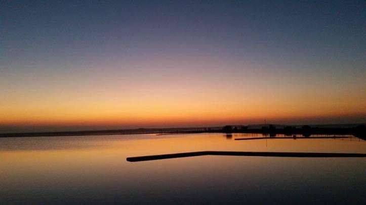 Feeling reflective at West Kirby Marine Lake