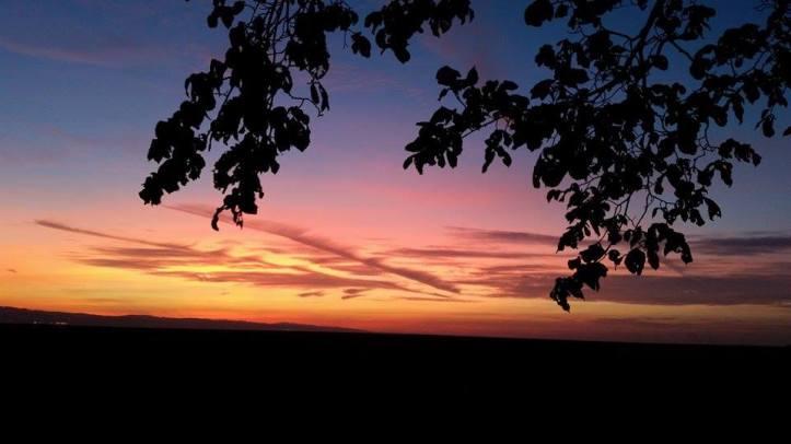 Parkgate Sunset. CREDIT: Kirsty Bakstad