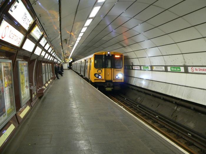 Merseyrail Underground CREDIT: Chris McKenna