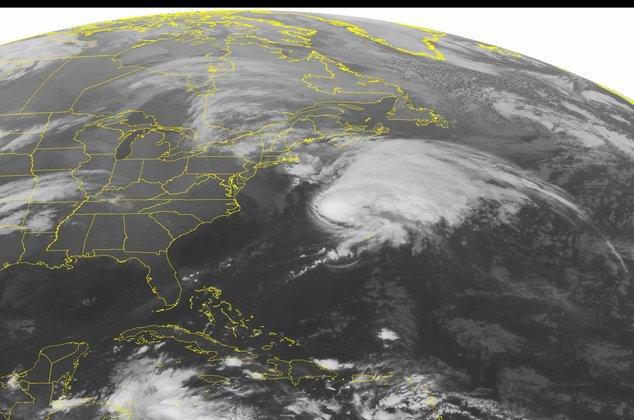Ex-Hurricane Kate on Wednesday