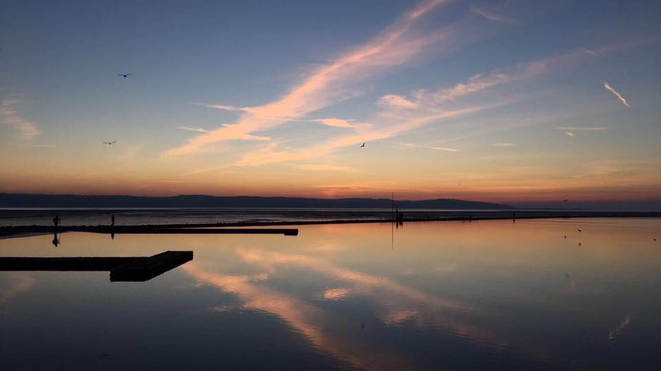 we have been sent amazing weather pictures of stunning sunsets over west kirby