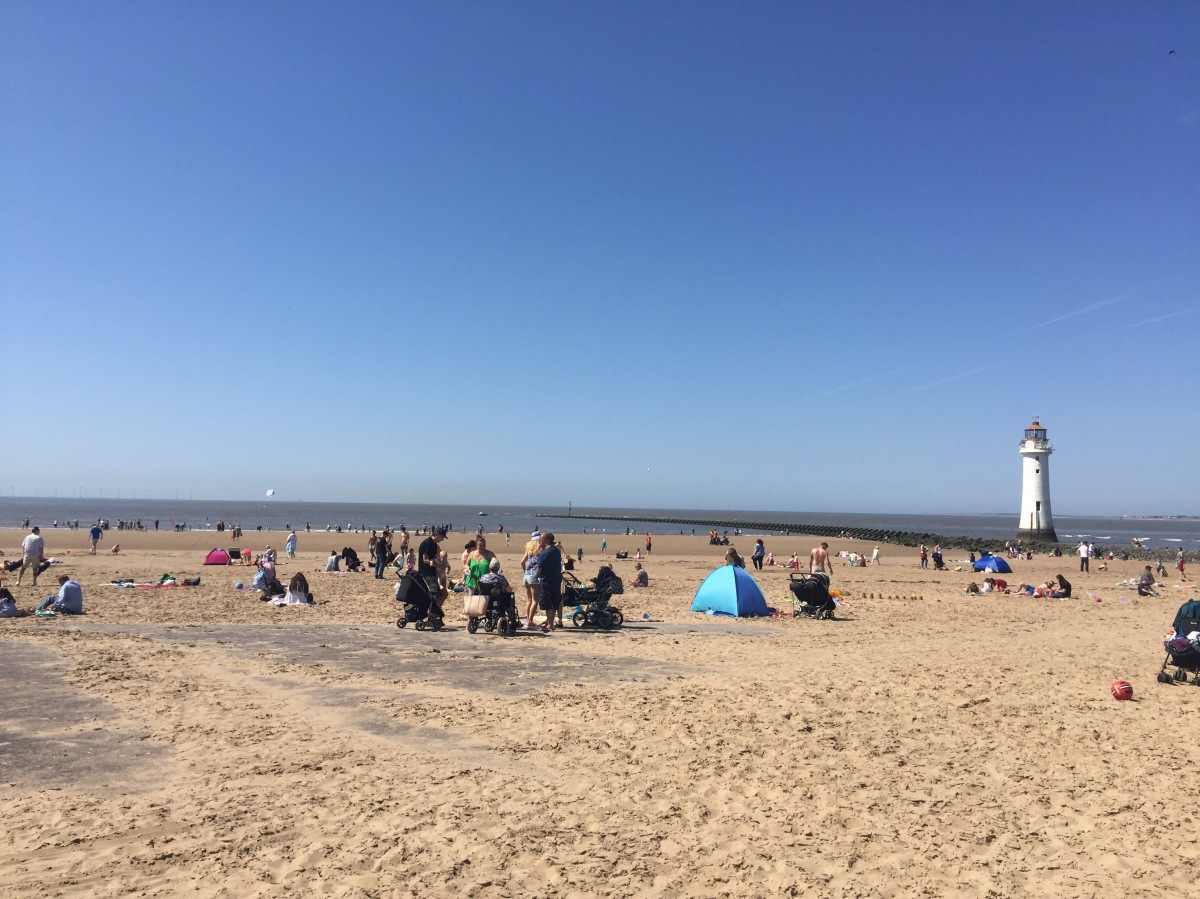 Merseyside expected to bask in the hottest April 19th EVER and there's more to come