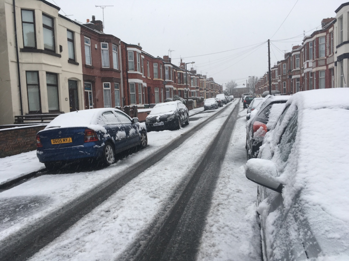 Merseyside will have a week of freezing weather bringing the risk of ice and snow