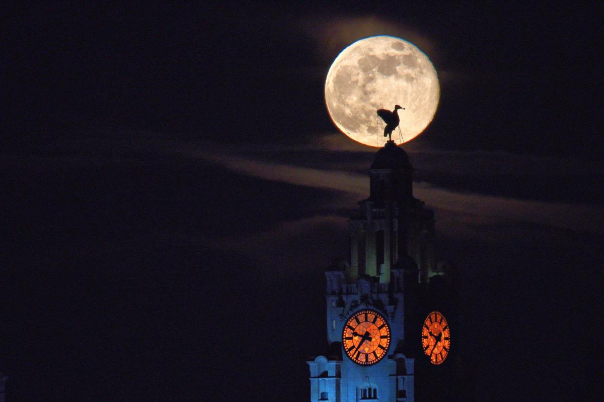 The Harvest moon is visible TONIGHT on Merseyside - but what does it mean ?