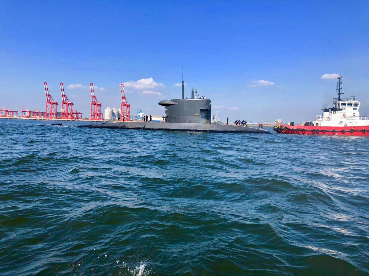 Here's why a submarine was spotted on the River Mersey