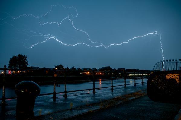 Liverpool storm
