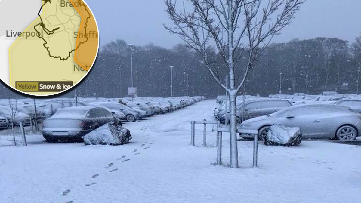 Merseyside issued severe weather warnings for Freezing Rain, snow and ICE