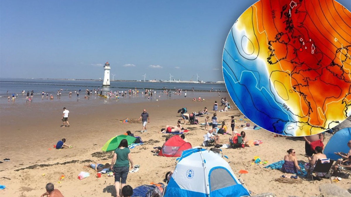 Temperatures will get hotter next week as the warm spell continues on Merseyside